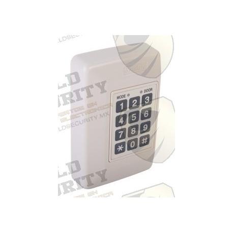 Controlador de una Puerta   Hasta 500 Usuarios   Capacidad de Conexión de 2 Lectoras