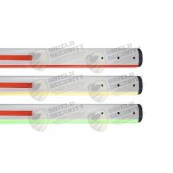 Mástil Recto | Iluminación LED ROJO/VERDE | Comp. con Barreras Industrial by AccessPRO
