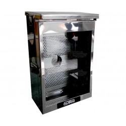 Caja de Proteccion / Acero Inoxidable / Dimensiones: 23 X 33 X 8 cms / IP65 / Compatible con Equipos ZK