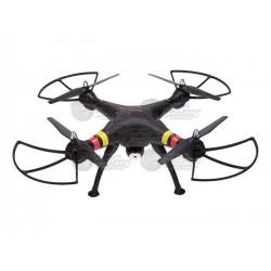 DRONE / CAMARA 2MPX / MEMORIA MICRO SD 4GB  / NEGRO