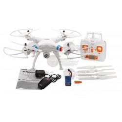 DRONE / CAMARA 2MPX / MEMORIA MICRO SD 4GB  / BLANCO