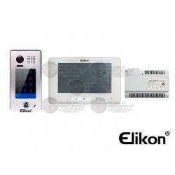 """Kit Videoportero / Frente de Calle / Monitor Touch Screen LCD 7"""" / Fuente / Desvio de Llamadas / Manos Libres"""