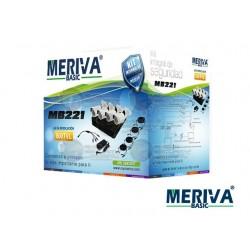 Kit DVR MBASIC20 / 4CH + 4 Cam Bullet / 800TVL / MBAS204 + Accesorios