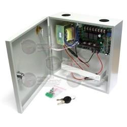 Caja de distribución con fuente de alimentación con respaldo UPS (No incuye batería)