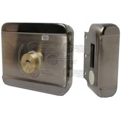 Cerradura Inteligente / Anti-Impacto / Llave / Piston Electrico / 12/24VCD