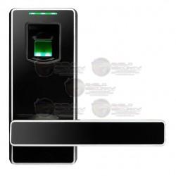 Cerradura / Biometrica / 100 Huellas / Doble Pestillo / Reversible / Terminal de Batería / Apertura de Respaldo
