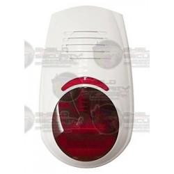 Sirena Inalámbrica / Exterior / Flash / Potencia 120 dB / Batería Recargable