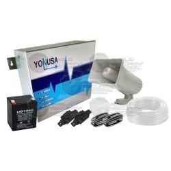 Kit / Cerca Eléctrica / EY-12000-127P / UB1250 / SD-30W / Y101 / Y202 / 1-CAB001