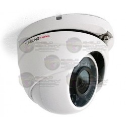 Camara / Domo / TurboHD TVI / 2 Mpx / 1080p / Gran Angular / 2.8 mm / Smart IR LED's 20 Mts / DWDR / 3D-DNR / Zoom Digital 62X