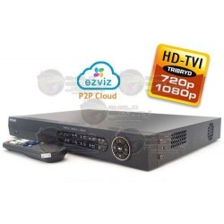 DVR / 8 CH / Turbo HD TVI / 1080p / 720p / WD1 / EZVIZ P2P / 2 HDD SATA 4TB / HDMI / VGA