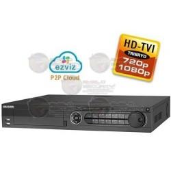 DVR / 32 CH / Turbo HD TVI / 1080p / 720p / WD1 / EZVIZ P2P / 4 HDD SATA 4TB / HDMI / VGA