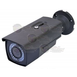 Camara / Bullet / TurboHD TVI / 2 Mpx / 1080p / Varifocal 2.8~12mm / IR LED's 50 Mts / DWDR / 3D-DNR / Zoom Digital 62X