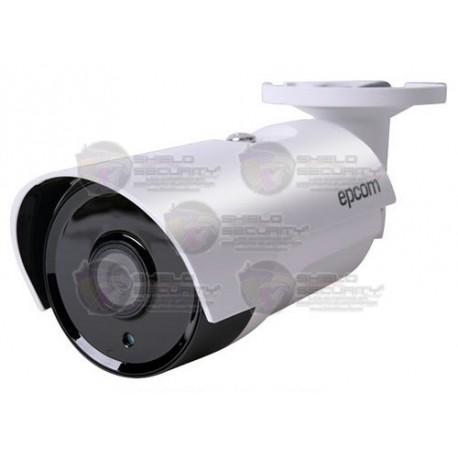 Camara / Bullet / TurboHD TVI / 2 Mpx / 1080p / Lente 3.6 mm / Smart IR LED's Ocultos 80 Mts / dWDR / 3D-DNR / OSD