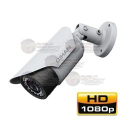 "Camara / Bullet IP / CMOS 1/2.8"" Exmor / 2 Mpx / 1080p / 3.6mm / HD 3MP / 24 IR LEDs / 30 mts. / IP67 / Slot SD / PoE / ONVIF"