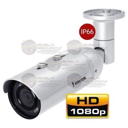 "Camara / Bullet IP / CMOS 1/2.7"" / 2 Mpx / 3.6 mm / Smart Leds IR / 20 mts / 3DNR / PoE / IP66"