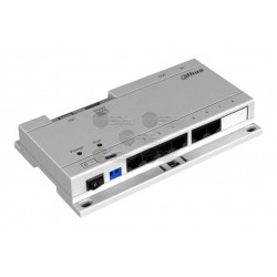 Switch / POE / con Protocolo Dahua / Cat 5e / 24VDC / Hasta 6 Monitores / Interior