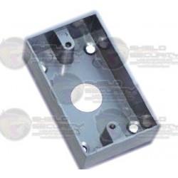 Caja P/Instalacion de Boton Liberador de Puerta / Metal / Comp. con Boton RB03