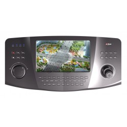 Teclado Multi-Dispositivos IP / PTZ IP / PTZ Analogica / DVR's / NVR's / Pantalla Tactil / 7 Pulgadas / Full HD