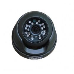 """Cámara Domo / 800TVL / Lente Fijo 3.6mm / IR a 20 Mts. / 24 IR Leds / Sensor CMOS 1/3"""" / IP66"""