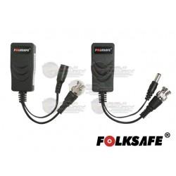 Tranceptor / Convertidor / Ballun / HD / Energía / AHD / TVI / CVI