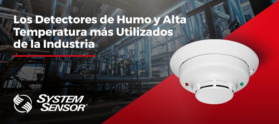 Detectores de Humo y Temperatura - SYSTEM SENSOR